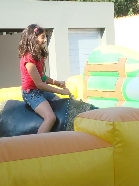touro mecânico, festa de aniversário