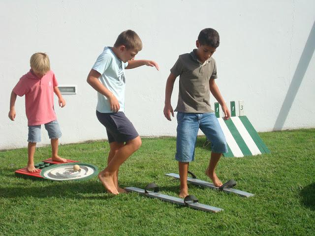 Jogos tradicionais, festa de aniversário